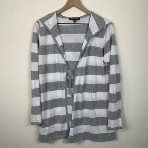 Tommy Bahama Striped Hooded Cardigan